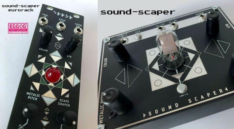 Error Instruments Sound Scaper und Sound Scaper LDR