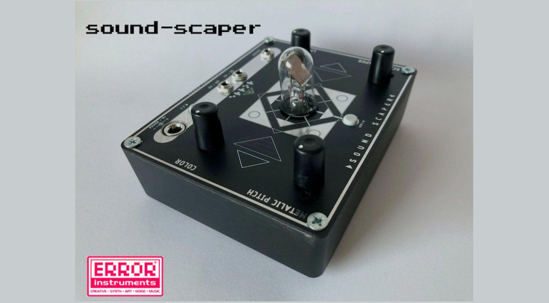 Error Instruments Sound Scaper LDR