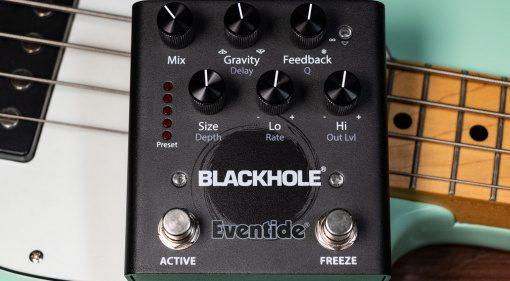 Eventide präsentiert das Über-Reverb Blackhole als Effektpedal