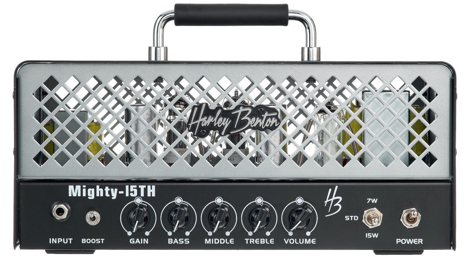 Harley Benton Mighty-15TH Amp Front
