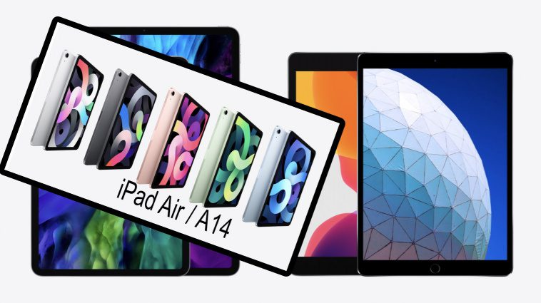 iPad Air A14 - iPad A12 USB-c