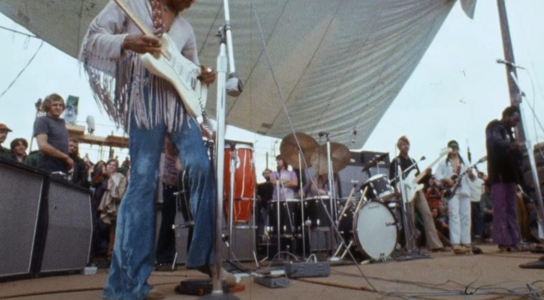 Jimi Hendrix Pedal Board Woodstock
