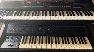 Roland Juno-106 & Jupiter-4