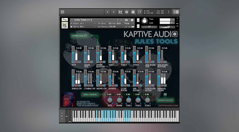 Kaptive Audio Jules Tools