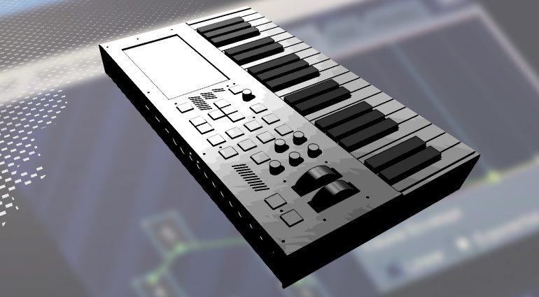 Kodamo EssenceFM mit Tastatur