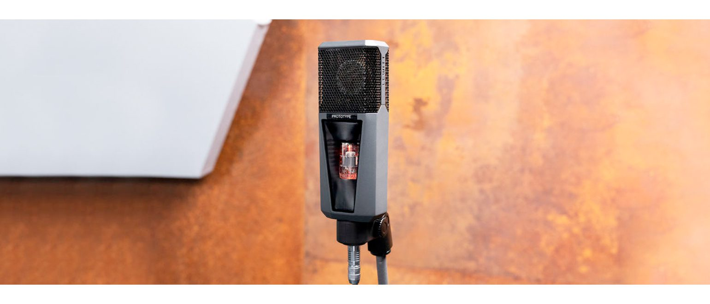 LEWITT Project 1040 Mikrofon-Prototyp