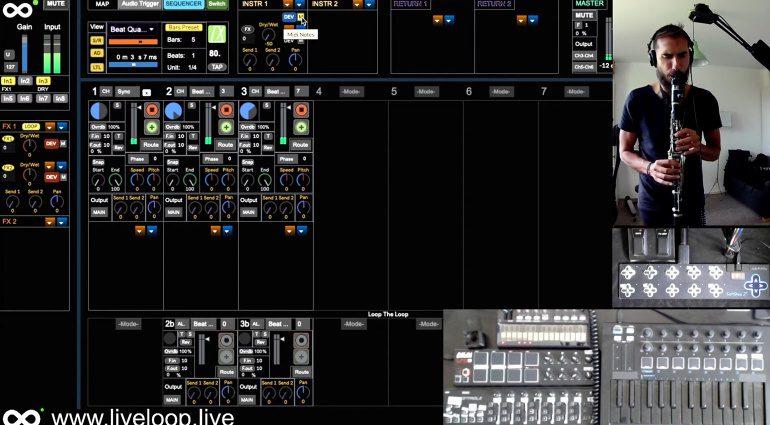 LiveLoop ist eine vielseitige DAW für Live Music Performer
