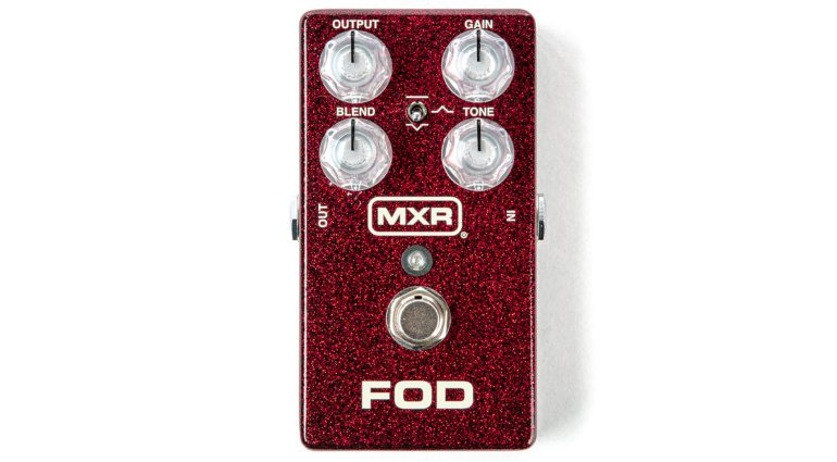 MXR FOD Overdrive PEdal Front