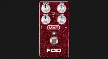 MXR FOD Overdrive PEdal Front Teaser