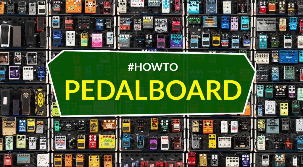 Pedalboard Anleitung HOWTO Teaser Teil 1