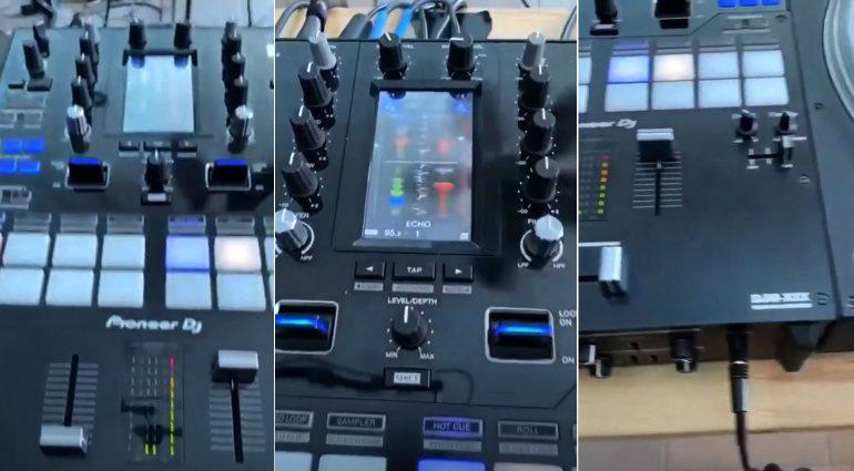 Wurde hier der DJM-S9 MK2, DJM-S10, DJM-S11 oder ein anderer neuer Battlemixer von Pioneer DJ geleakt?