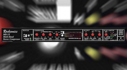 Rocksonics MB-3X: der legendäre Multiband Mastering Kompressor als Plug-in