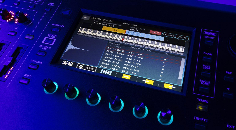 Roland Fantom 2.0 Update