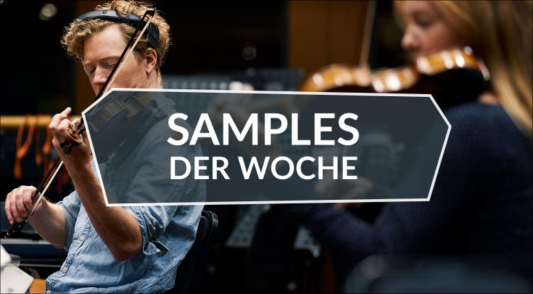 Samples der Woche: Intimate Strings, RSSD03 Dark Bass, Winter, GDC 2020 Game Audio
