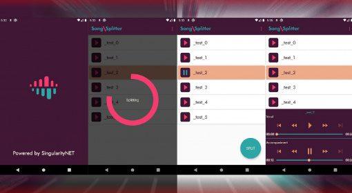 Kostenlos für Android: SingularityNET SongSplitter App trennt Vocals von Musik