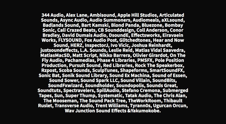 GDC 2020 Game Audio