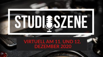 Studioszene 2020 goes virtual