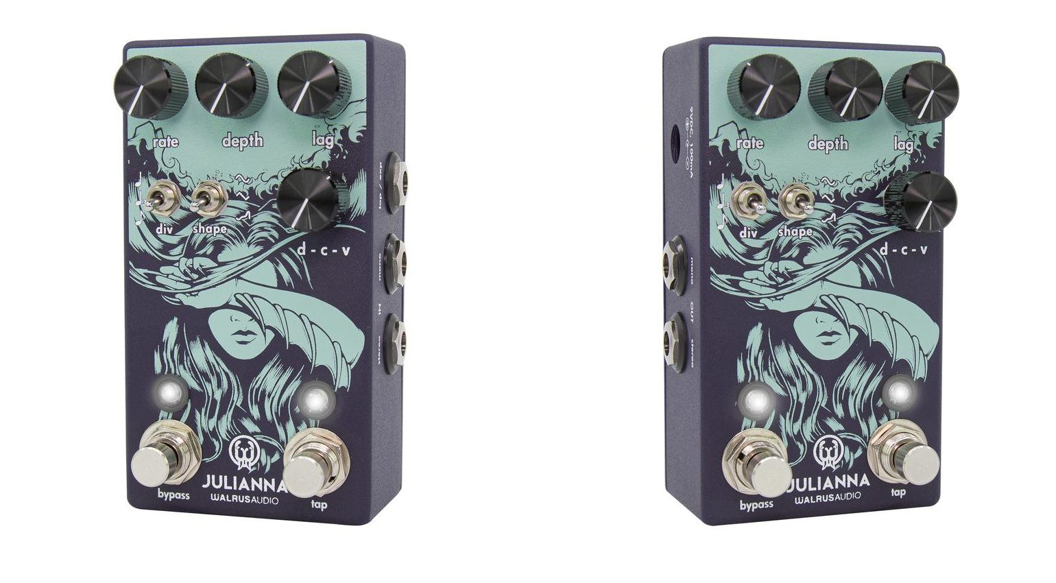 Walrus Audio Julianna Modulation Effekt Pedal Front