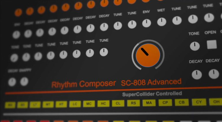 Yoshinosuke Horiuchi SC-808 Advanced: experimenteller TR-808 Klon für 29$