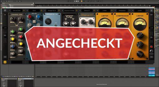 Angecheckt: IK Multimedia MixBox - der do-it-yourself Channelstrip