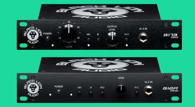 Black Lion Audio B173 mkII und B12A mkIII Preamps