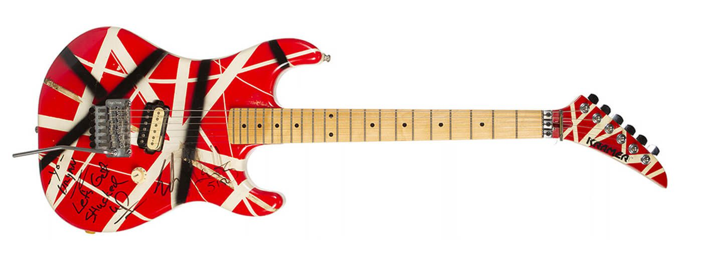 Eddie Van Halen Juliens Auction EVH Custom Kramer