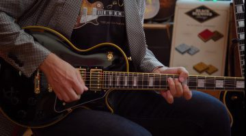 Epiphone Les Paul Custom Joe Bonamassa Outfit Black Beatuy Teaser