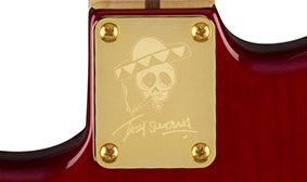 Fender Tash Sultana HSS Stratocaster Signature Neck Plate