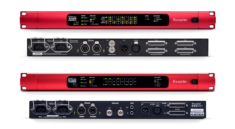 Focusrite Pro RedNet A16R MkII und RedNet D16R MkII