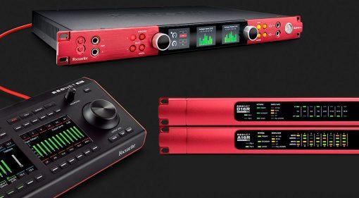Red 8Line, RedNet A16R MkII, RedNet D16R MkII, RedNet R1