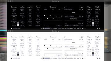 Fors Superberry Synthesizer: super scharfe Supersaws für macOS