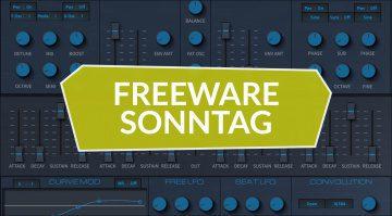 Freeware Sonntag: Textural Pads, Tonetta Blue und UpStereo