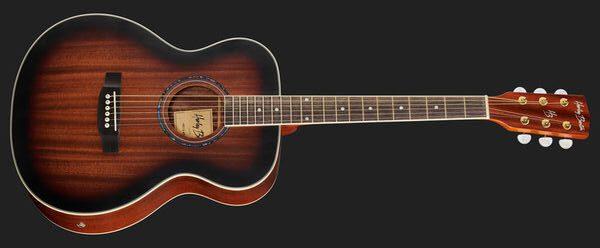 Harley Benton CG-45E Vintage Sunburst Akustikgitarre Front
