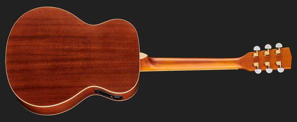 Harley Benton CG-45E Vintage Sunburst Akustikgitarre Rückseite#