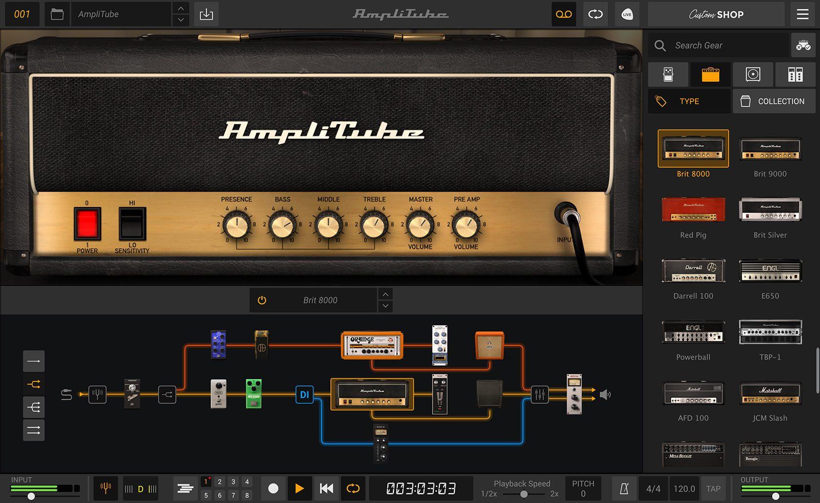 IK Multimedia Amplitube 5 Amp