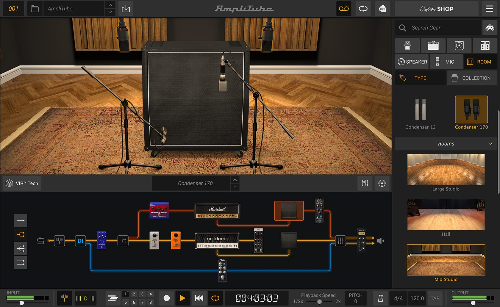 IK Multimedia Amplitube 5 Cab Room