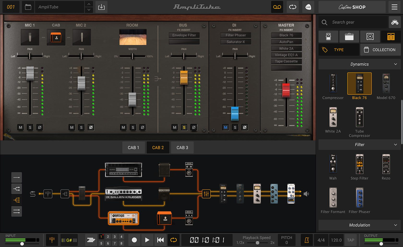 IK Multimedia Amplitube 5 Mixer