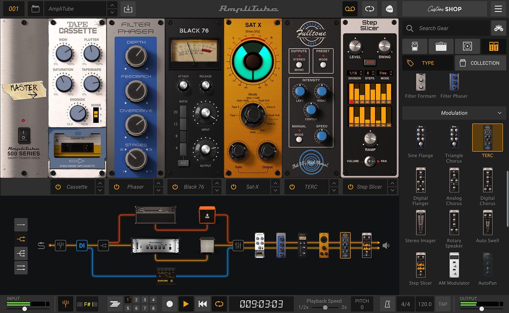 IK Multimedia Amplitube 5 Rack