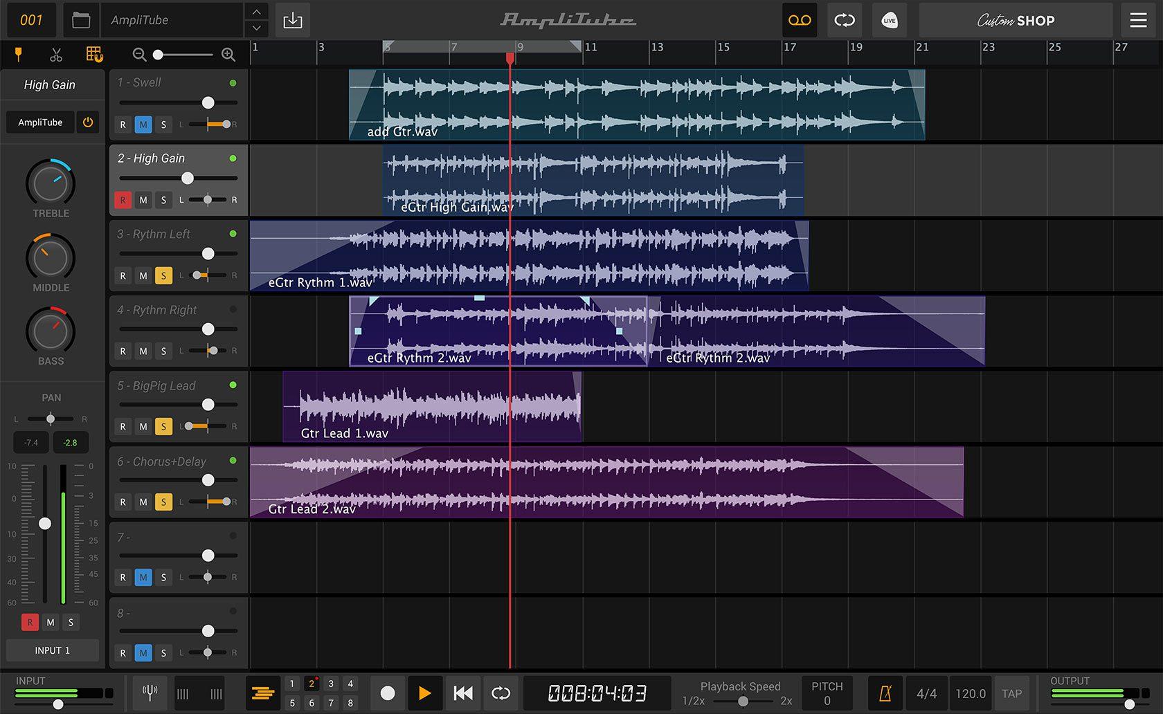 IK Multimedia Amplitube 5 Recording