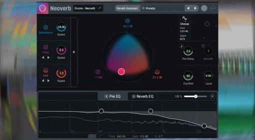 iZotope Neoverb: ein automatisches Reverb Plug-in mit Morphing, EQ und mehr