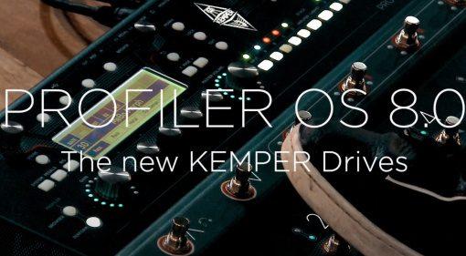 Kemper Profiler OS 8 Teaser