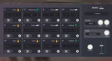 Klevgränd Skaka: Shaker Percussion Instrument mit integriertem Groove