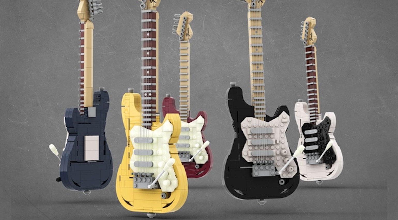 LEGO Legendary Stratocaster Farben