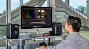 Sound für Multimedia-Anwendungen im kompakten Formfaktor: M-Audio BX3 und BX4 Monitore
