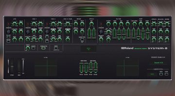 Momo Müller Roland System-8 Editor: Controller Plug-in für das System-8
