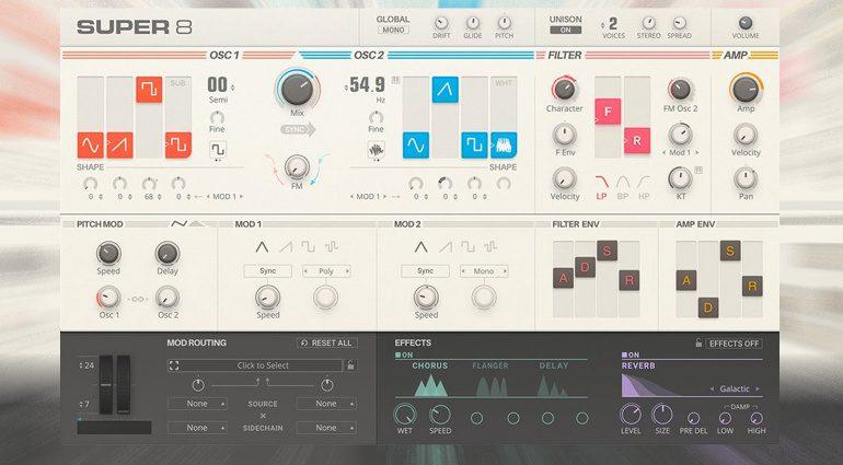 Native Instruments veröffentlicht Super 8 als VST3-Plug-in