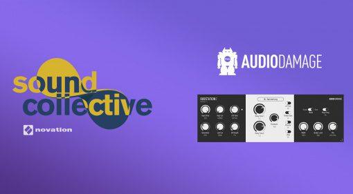 Novation Sound Collective verschenkt Audio Damage Dubstation 2 Delay Plug-in