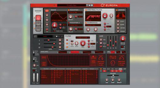 Reason Studios Europa für Amped Studio erhältlich