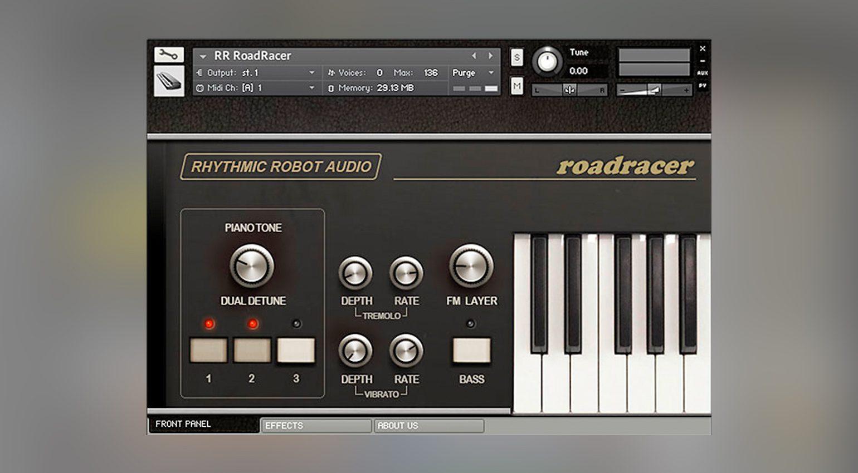 Rhythmic Robot Audio RoadRacer