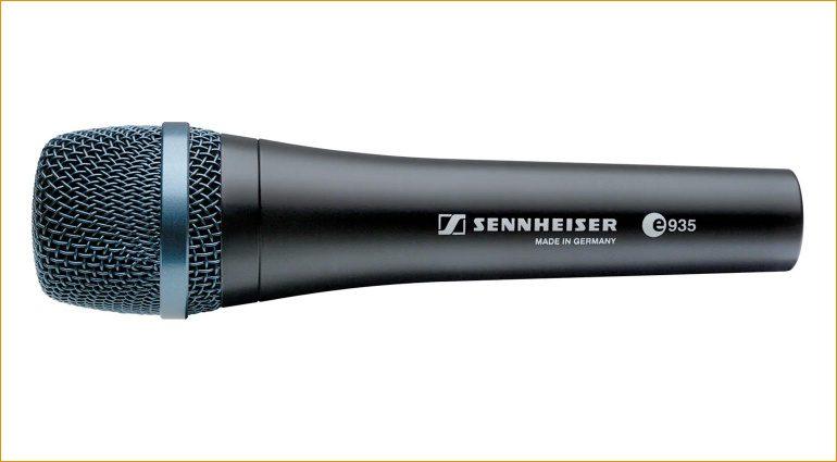Sennheiser E 935 Gesangsmikrofon für 99 Euro